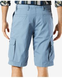 Dockers - Blue Shorts, Core Cargo Shorts for Men - Lyst