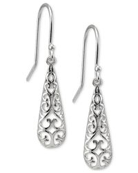 Giani Bernini | Metallic Filigree Drop Earrings | Lyst