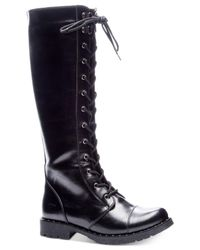 Dirty Laundry - Black Roset Tall Combat Boots - Lyst
