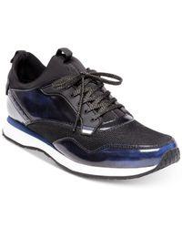 Steve Madden - Black Golsen Lace-up Sneakers for Men - Lyst