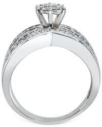 Macy's - Metallic Diamond Bridal Set (7/8 Ct. T.w.) In 14k White Gold - Lyst