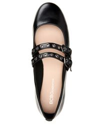 BCBGeneration - Black Grace Belted Ballet Flats - Lyst