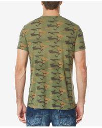 Buffalo David Bitton - Green Kikamo T-shirt for Men - Lyst
