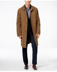 London Fog | Natural Coat Durham Raincoat for Men | Lyst
