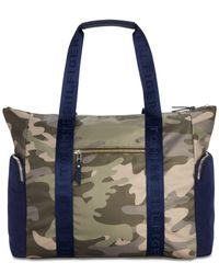 Tommy Hilfiger - Green Nylon Sporty Camo Extra-large Tote - Lyst