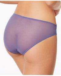 Wacoal - Purple Embrace Lace Bikini 64391 - Lyst