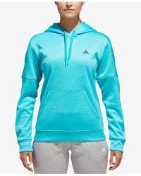 Adidas - Blue Team Issue Hoodie - Lyst