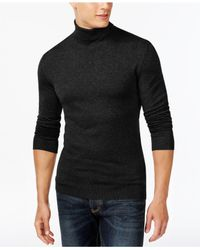 Alfani | Black Men's Turtleneck, Only At Macy's for Men | Lyst