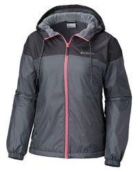 Columbia - Multicolor Fleece-lined Windbreaker Jacket - Lyst