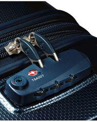 "Samsonite | Blue Vibratta 21"" Carry-on Hardside Spinner Suitcase | Lyst"