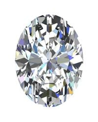 Macy's - Multicolor Gia Certified Diamond Oval (1/2 Ct. T.w.) - Lyst