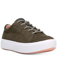 Dr. Scholls - Green Wander Lace-up Sneakers - Lyst