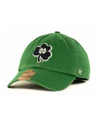 47 Brand - Blue Notre Dame Fighting Irish Franchise Cap for Men - Lyst