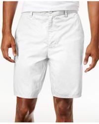 American Rag - White Men's Stretch Twill Short for Men - Lyst
