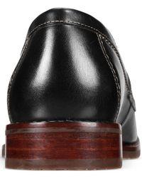 Johnston & Murphy - Black Men's Garner Penny Loafers for Men - Lyst