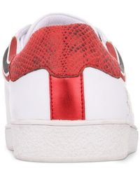 INC International Concepts - White Cosmic Patchwork Low-top Sneakers, Created For Macy's for Men - Lyst