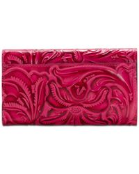 Patricia Nash - Pink Burnished Tooled Terresa Wallet - Lyst