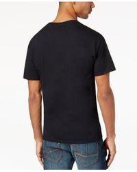 Sean John - Black Men's Multi-studded T-shirt for Men - Lyst
