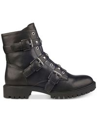 G by Guess - Black Prez Boots - Lyst