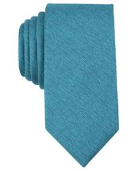 Perry Ellis - Blue Men's Norfolk Solid Tie for Men - Lyst