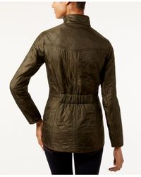 Barbour - Green Quilted Utility Jacket - Lyst