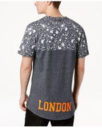 Superdry - Multicolor City Number Paint-splatter Logo-print T-shirt for Men - Lyst