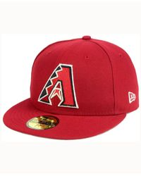KTZ - Red Arizona Diamondbacks Classic Gray Under 59fifty Cap for Men - Lyst