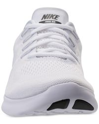 Nike - White Men's Free Run 2017 Running Sneakers From Finish Line for Men - Lyst