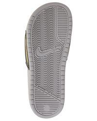 Nike Multicolor Women's Benassi Jdi Print Slide Sandals From Finish Line