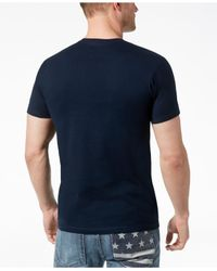 INC International Concepts - Blue Graphic-print T-shirt, Created For Macy's for Men - Lyst