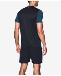 Under Armour - Blue Heatgear® Raid T-shirt for Men - Lyst