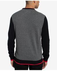 Sean John - Gray Basquiat T-rex Sweater, Created For Macy's for Men - Lyst