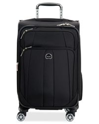"Delsey | Black Helium Breeze 5.0 21"" Carry On Spinner Suitcase for Men 
