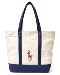 Polo Ralph Lauren - Blue Men's Big Pony Tote - Lyst