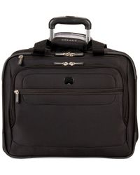 Delsey - Black Helium Fusion Rolling Trolley Tote - Lyst