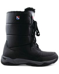 Khombu - Black Ski Team Lace-up Cold-weather Boots - Lyst