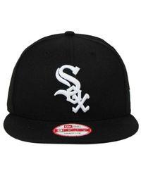 KTZ | Black Chicago White Sox B-dub 9fifty Snapback Cap for Men | Lyst