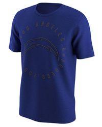 Nike - Blue Color Rush Logo T-shirt for Men - Lyst