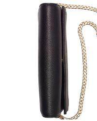 CALVIN KLEIN 205W39NYC Black Faye Leather Small Crossbody