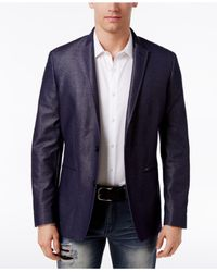 INC International Concepts - Blue Men's Aaron Slim-fit Blazer for Men - Lyst