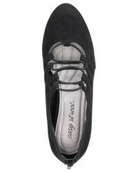 Easy Street - Black Jennifer Lace-up Heels - Lyst