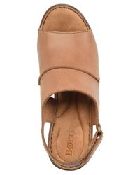 Born Brown Wekiva Dress Sandals