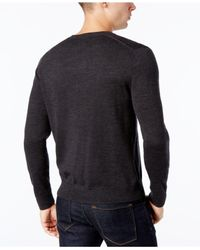 Brooks Brothers - Gray Men's Merino Wool Sweater for Men - Lyst