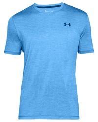 Under Armour - Blue Techtm V-neck Men's Short Sleeve Shirt for Men - Lyst