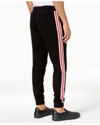 Reason - Black Men's Embroidered Jogger Pants for Men - Lyst
