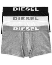 DIESEL | Black Kory Men's Trucks 3-pack for Men | Lyst