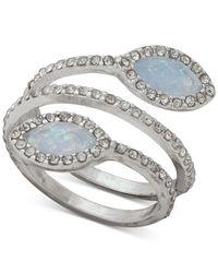 Lonna & Lilly - Metallic Pavé & Stone Spiral Ring - Lyst