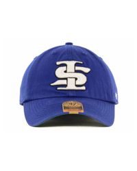 47 Brand | Blue Indiana State Sycamores Ncaa '47 Franchise Cap for Men | Lyst