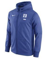 Nike - Blue Men's Therma Full-zip Hoodie for Men - Lyst