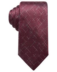 Alfani - Purple Men's Reed Dash Silk Tie, Created For Macy's for Men - Lyst